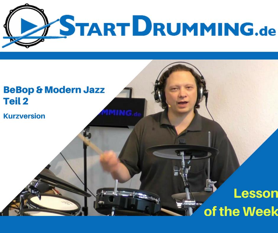 BeBop & Modern Jazz Teil 2 (Kurzversion)