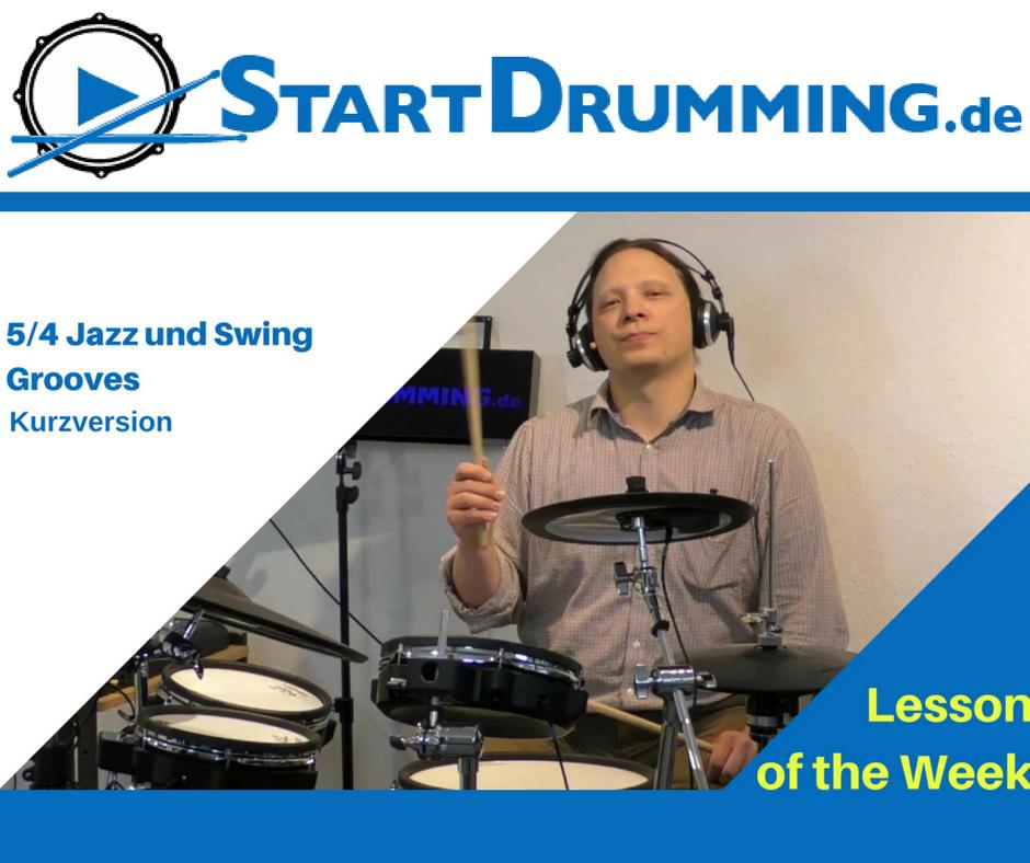 5/4 Jazz und Swing Grooves (Kurzversion)