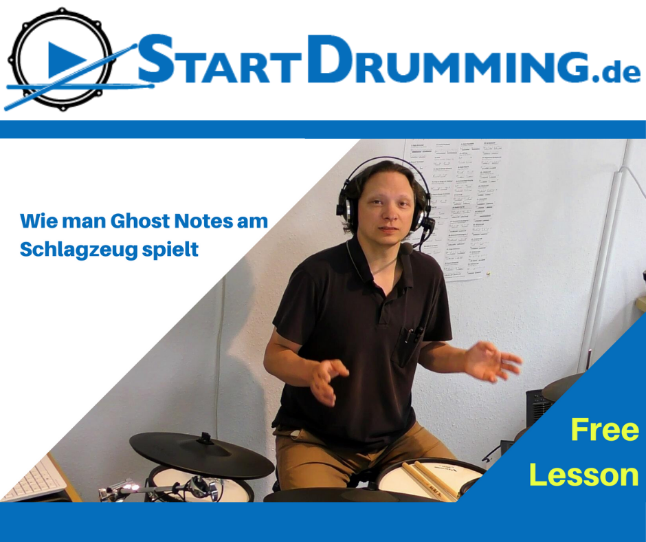 Wie Man Ghost Notes Am Schlagzeug Spielt