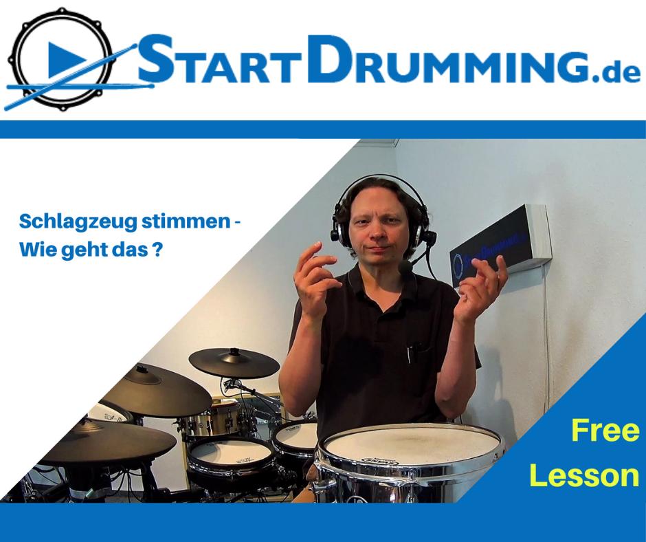 Schlagzeug Stimmen – Wie Geht Das?